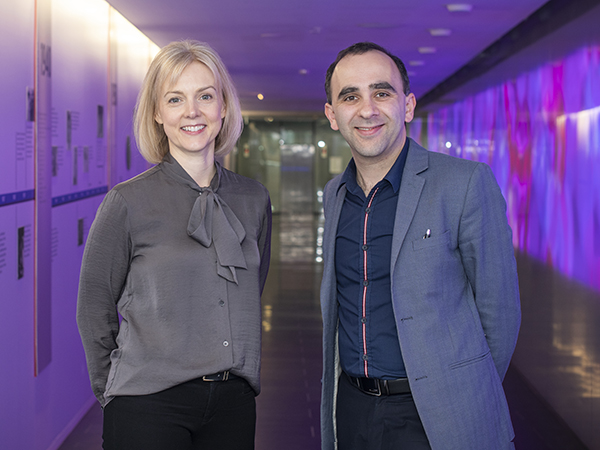 Associate Professors Rosie Watson and Nawaf Yassi are leading clinical studies on Parkinson's disease