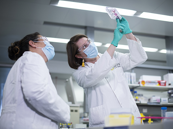 Dr Emily Eriksson (left) and Dr Vanessa Bryant (right) are studying immunity through COVID PROFILE